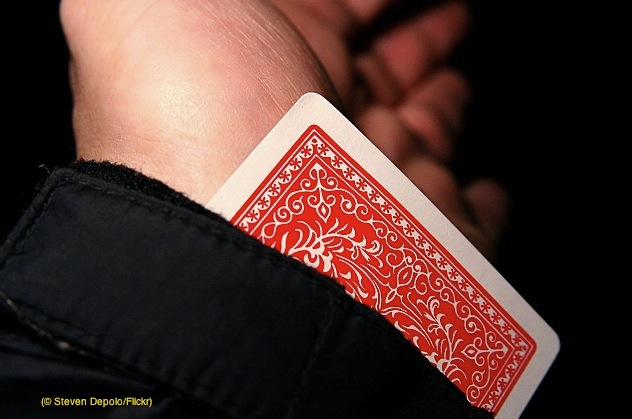 19. Card Trick (© Steven Depolo:Flickr)
